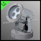 3*1W LED garden spot lighting