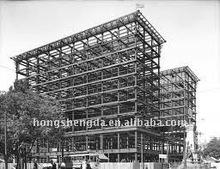 Beatiful prefabricated steel frame hotel