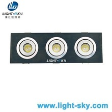 High power 3w cree dimmable led downlights 220v