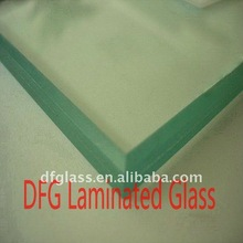 10.38mm clear laminated glass