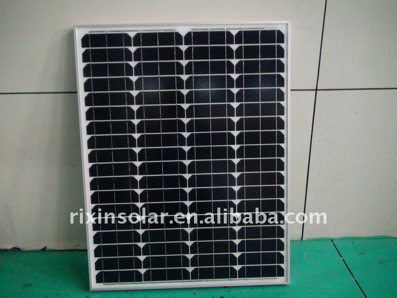 75W Good Quality Monocrystalline silicon solar cell