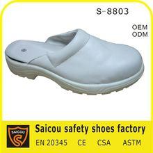 steel toe pu injection sandals slipper factory (SC-8813)