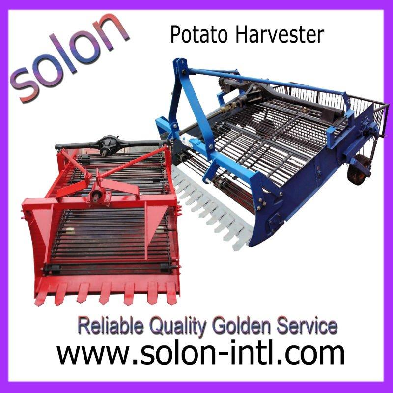 De la papa motocultor máquina de la cosecha con alta eficiencia