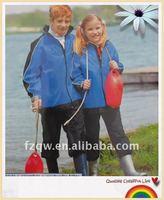 kids sportwear clothes waterproof rain suits