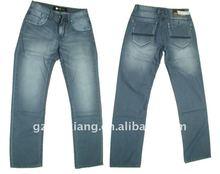 Men straight fit jeans, 2012 newest jeans,hot sale