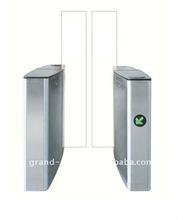 CE Approved Sliding type Security Passage Turnstile with IR Sensor,alarm,entrance barrier turnstile,turnstile flap barrier
