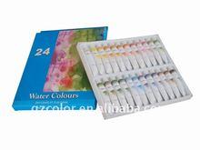 24color*12ml water color set