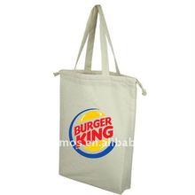 popular silk screen printing cotton shopping bag