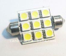 Car Interior Dome 16 SMD LED Festoon Bulb Light 39mm