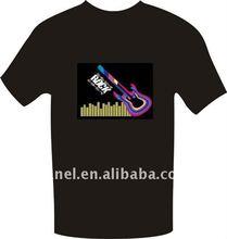 Young man EL T-shirt