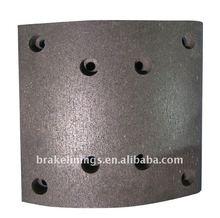 MAN brake lining/heavy duty truck brake linings/ford/volvo/benz/merceds,asbestos free brake lining,tuck part