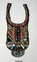 beaded collar/garment embroiery collar