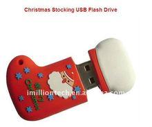 3D custom made socks usb pendrives christmas holidays usb