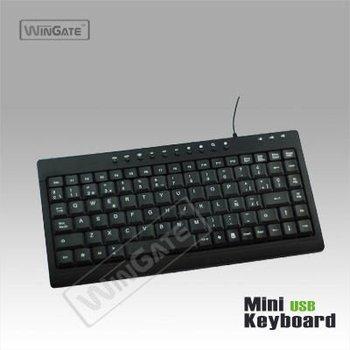 New 104 Chocolate Keys Style Slim Keyboard Black