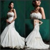 New Arrived Chapel Train Empire Mermaid Casual Wedding Dress SL-x0135