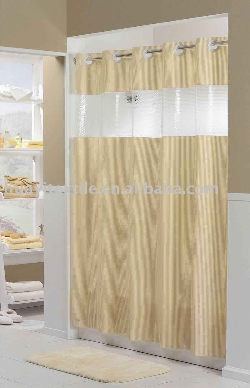 Hookless shower curtain - Shower Curtains Hookless Hook Less Shower Curtain View Hookless Shower Curtain Huayi