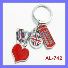 Tourism Gift Metal Keychain for London Olympic Games