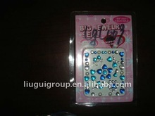 2011 newest bling jewelry/rhinestone/crystal mobile/cell phone sticker