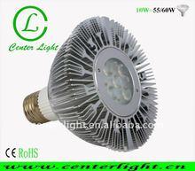 Par30XE27 5x2W2 led par light e27