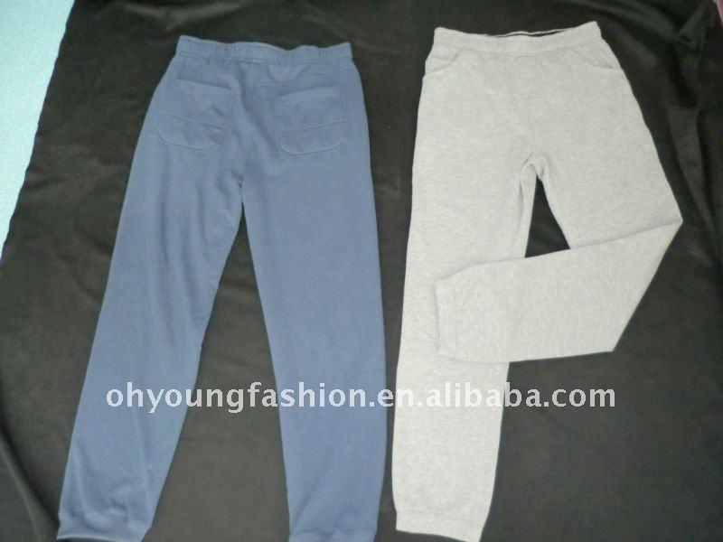 de promoción del hombre en blanco largo pantalones de deporte