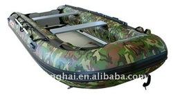 DSD-2.7m CE CAMO color inflatable sport boat pvc factory