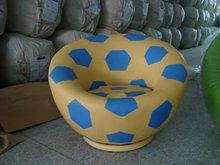 Kid's PVC Cartoon Chair(Football)