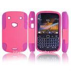 Hybrid silicone skin hard case cover For Blackberry Bold 9900