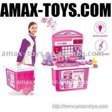 ht-59008 pink kitchen toy play set