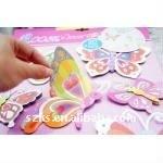 butterfly 3D handmade wall sticker