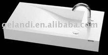 acrylic wash basin---new design for bathroom sinks(colorful life)