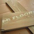 High gloss 12.3mm teck, u- groove parquet stratifié pour l'ingénierie