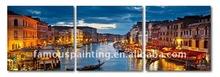 Printed landscape Venice Italy