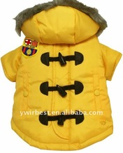 Hot sale newest western style winter dogs clothing