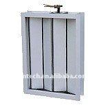 air volume control damper for HVAC