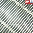 exterior decorative metal mesh, facades decorative metal mesh, stainless steel rope mesh curtain