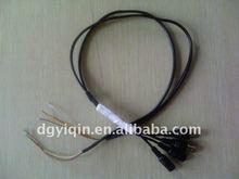 BNC video+DC power cable for Monitor/Fingerprint Scanner