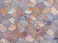 irregular slate flooring tile