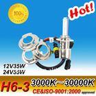 H6-3 3000K-30000K, motorcyle xenon bulbs, motorcycle headlight, motorcycle xenon lamps