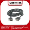 Premium VGA cable male to male for VGA monitors,LCD,Projectors