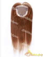 Straight Indian remy hair closure clip in extension