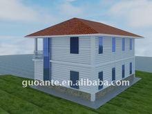 light steel house prefab villa