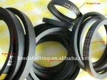 Wrapped V-belts