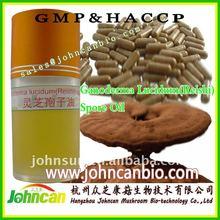 100% pure ganoderma lucidum spore oil-health supplement