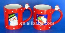 Christmas ceramic cup for gift