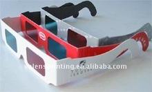 China Cheap Paper 3D glasses