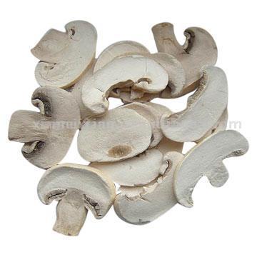 Freeze Dried Sliced Button Mushroom