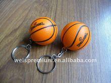 BASKETBALL SHAPED PU STRESS BALL