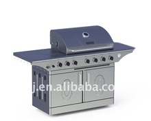 6 Burner Stainless Steel Gas Grill