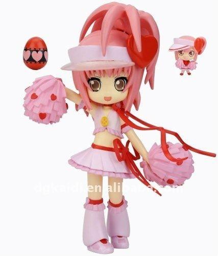 High Quality Cool 3D sexy girl cartoon plastic pvc figure