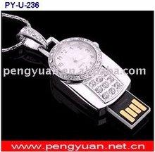 keychain clock USB stick diamond